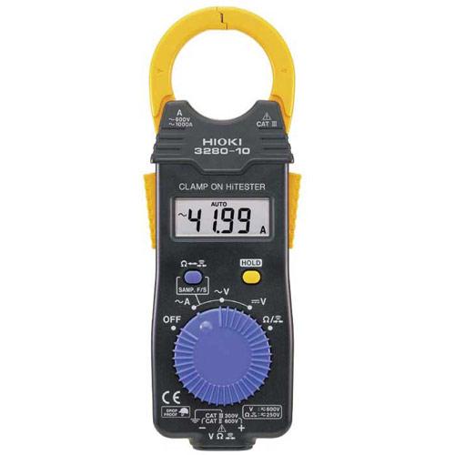 Monika 3280 Digital Clamp Meter : Hioki  digital ac clamp on hitester