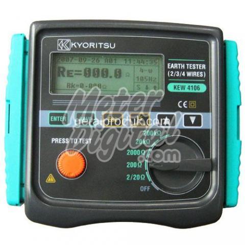 Kyoritsu 4106 Digital Earth Tester Amp Resistivity Tester